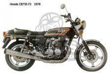 Honda CB750F2 SUPERSPORT EUROPEAN DIRECT SALES