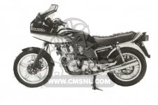 Honda CB750F2C EUROPEAN DIRECT SALES