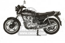 Honda CB750FB SOUTH AFRICA