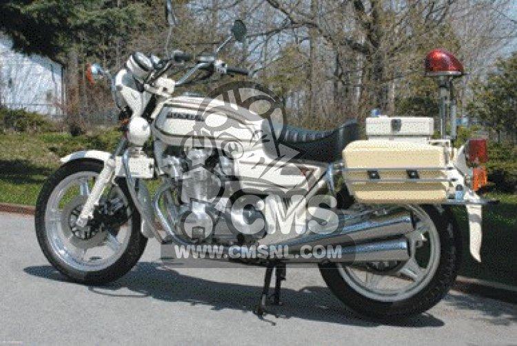 Honda CB750K 1980 A FOUR IRELAND POLICE