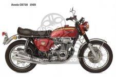 Honda CB750K0 FOUR 1969 USA parts