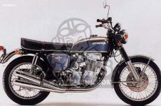 Honda CB750K1 FOUR FRANCE