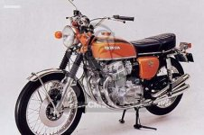 Honda CB750K2 FOUR EUROPEAN DIRECT SALES
