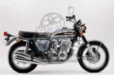 Honda CB750K6 FOUR ENGLAND