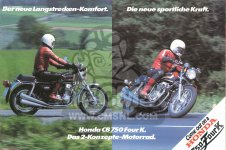 Honda CB750K7 FOUR GERMANY