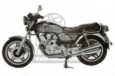 Honda CB750KB 1981 FOUR FRANCE