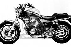 Honda CB750SC NIGHTHAWK 750 1983 D USA