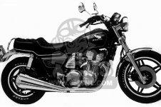 Honda CB900C 900 CUSTOM 1981 B USA