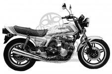Honda CB900F 900 SUPER SPORT 1982 USA