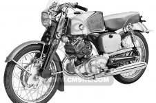 Honda CB92 BENLY SUPER SPORT 1959 USA