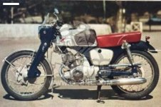 CB92 BENLY SUPER SPORT GENERAL EXPORT