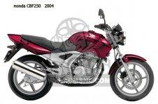 CBF250 2004 (4) ENGLAND