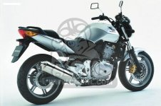 Honda CBF500 2004 4 EUROPEAN DIRECT SALES 3ED