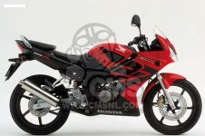 Honda CBR125R 2004 (4) EUROPEAN DIRECT SALES parts