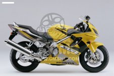 Honda CBR600F 2001 EUROPEAN DIRECT SALES