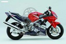 Honda CBR600F HURRICANE 2002 2 ENGLAND