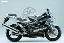 Honda CBR600FS 2002 FRANCE   F S