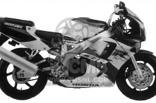 Honda CBR900RR CBR 1995 USA