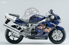 Honda CBR900RR FIRE BLADE 1999 EUROPEAN DIRECT SALES   KPH