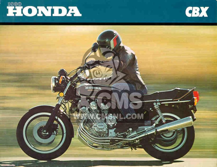 CBX1000 SUPERSPORT 1980 (A) GENERAL EXPORT / KPH