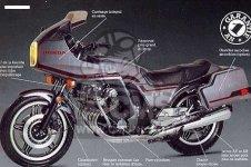 Honda CBX1000 SUPERSPORT 1981 B ENGLAND
