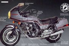 Honda CBX1000 SUPERSPORT 1981 B EUROPEAN DIRECT SALES