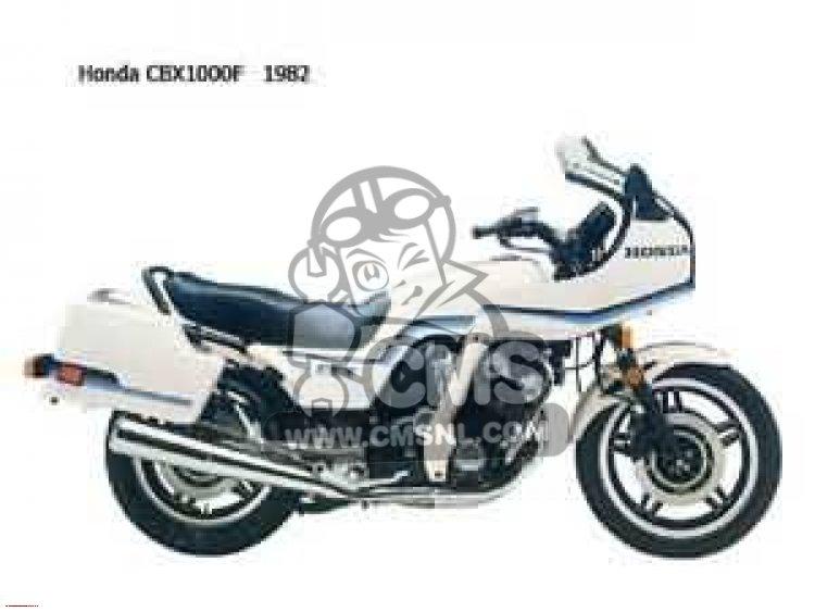 CBX1000 SUPERSPORT 1982 (C) CANADA