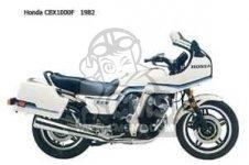 Honda CBX1000 SUPERSPORT 1982 C CANADA