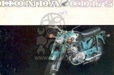 Honda CD175A SLOPER GENERAL EXPORT parts
