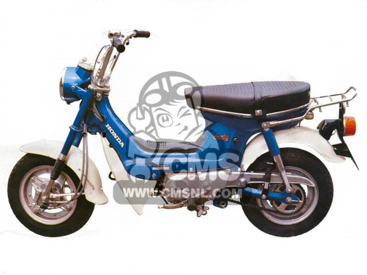 Honda CF70 CHALY information