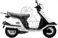 Honda CH80 ELITE 80 1996 T USA