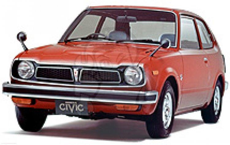 Honda CIVIC 1200 (EB1) 1973 2D-MT information