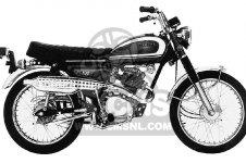 CL100S SCRAMBLER 1971 K0 USA