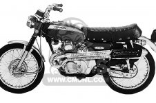 CL175 SCRAMBLER 1970 K4 USA