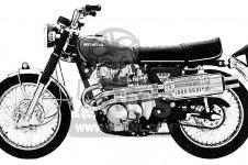 Honda CL450 SCRAMBLER 1969 K2 USA