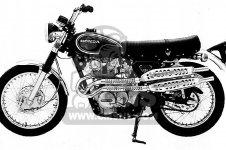 Honda CL450 SCRAMBLER 1972 K5 USA