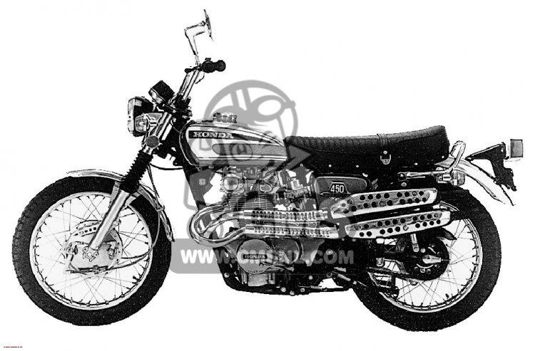 CL450 SCRAMBLER 1974 K6 USA