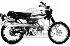 honda cl70 scrambler 1971 k2 usa parts lists and schematics Honda SL70