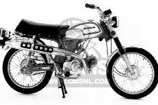 CL70 SCRAMBLER 1972 K3 USA