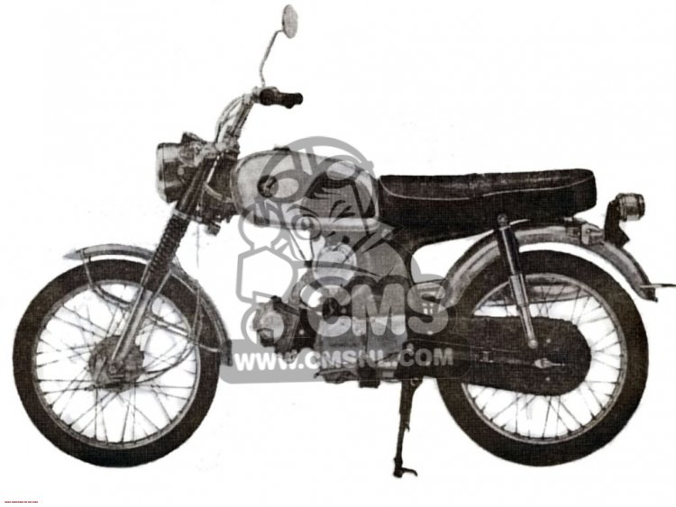 CL90 SCRAMBLER GENERAL EXPORT / TYPE 2