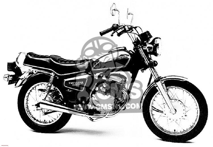 1981 honda cm200t twinstar value