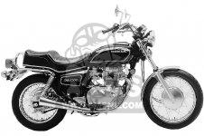 Honda CM400E 1981 B USA