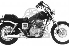CMX450C REBEL 1986 (G) USA CALIFORNIA