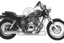 Honda CMX450C REBEL 450 1987 H USA