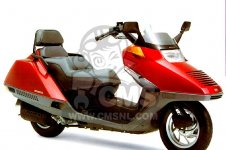 Honda CN250 HELIX 1991 M ITALY KPH