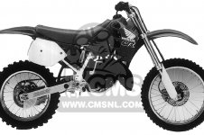 Honda CR125R 1990 USA
