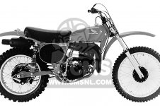 Honda CR250M ELSINORE 1976 USA