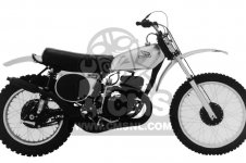 Honda CR250M ELSINORE K0 1973 USA