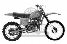 Honda CR250R ELSINORE 1978 USA