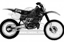 Honda CR250R ELSINORE 1984 E USA